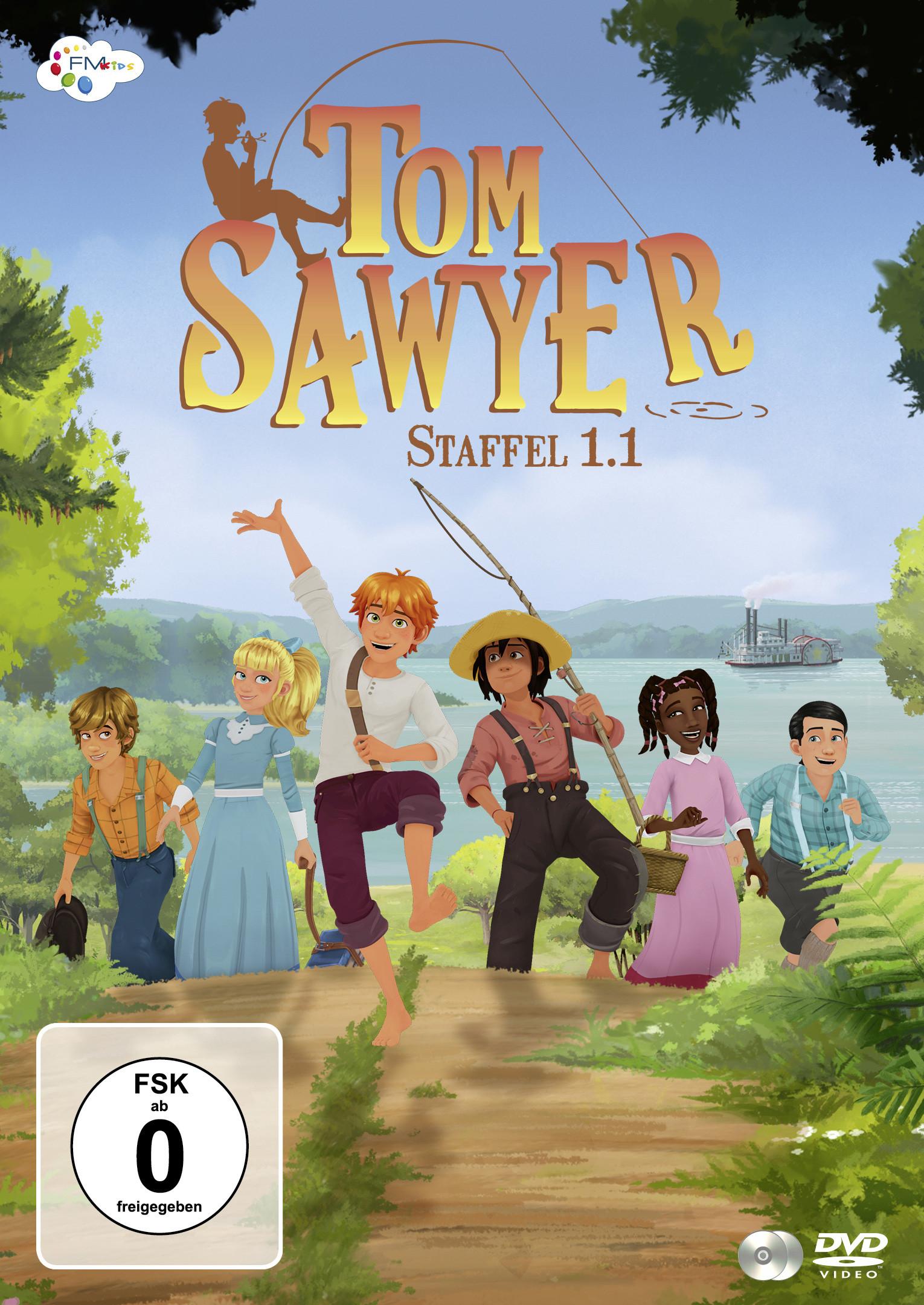 Tom Sawyer - Staffel 1.1 (2 DVDs)