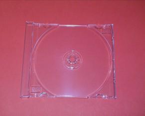 CD Tray glasklar