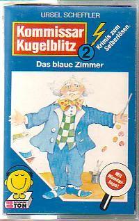 MC Schneider Ton Kommissar Kugelblitz 2 Das blaue Zimmer