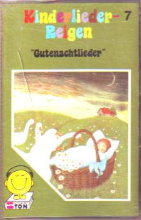 MC Schneider Ton Kinderlieder Reigen 7 Gutennachtlieder