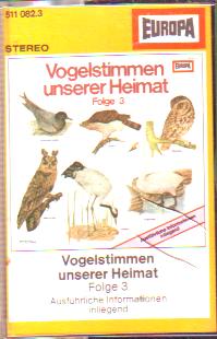 MC Europa Vogelstimmen unserer Heimat Folge 3