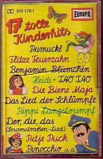 MC Europa 17 tolle Kinderhits Pumuckl, Flitze Feuerzahn uva.