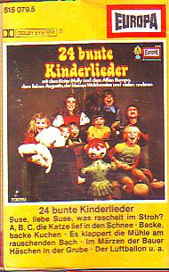 MC Europa 24 bunte Kinderlieder