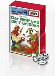 MC Europa Märchenbox 10 der Wolf und die 7 Geißlein / Däumelinch