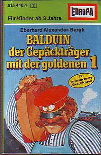 MC Europa Balduin der Gepäckträger mit der goldenen 1