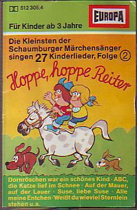 MC Europa Hoppe hoppe Reiter