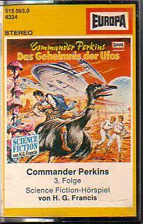 MC Europa Commander Perkins Folge 3 Das Geheimnis der Ufos