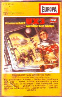 MC Europa Raumschiff UX 3 antwortet nicht