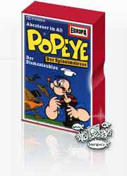 MC Europa Popeye 01 Abenteuer im All / Der Diamantenklau