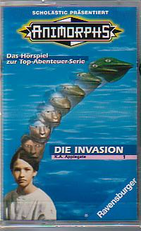 MC Ravensburger Animorphs 1 Die Invasion