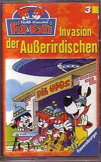 MC Ravensburger Fix und Foxi Folge 3 Invasion der Ausserirdische