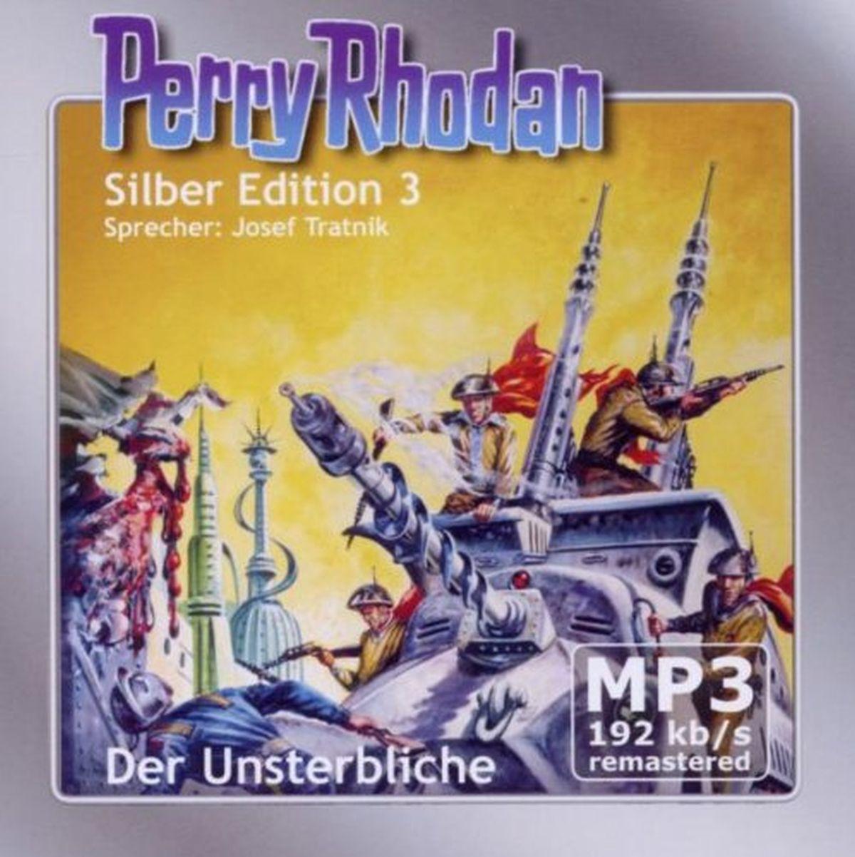Perry Rhodan Silber Edition (mp3-CDs) 03 - Der Unsterbliche - Remastered