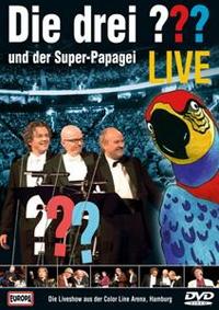 Der Superpapagei Live Die DVD