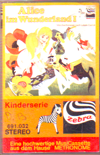 MC Zebra Alice im Wunderland 1