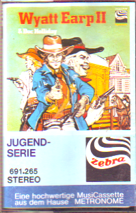 MC Zebra Wyatt Earp + Doc Holiday 2 in Bedrändnis O.K. Corral
