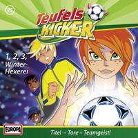 Die Teufelskicker 25 1 - 2 - 3 - Winter-Hexerei!