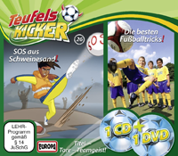 Die Teufelskicker 26 SOS aus Schweinesand (CD + DVD)