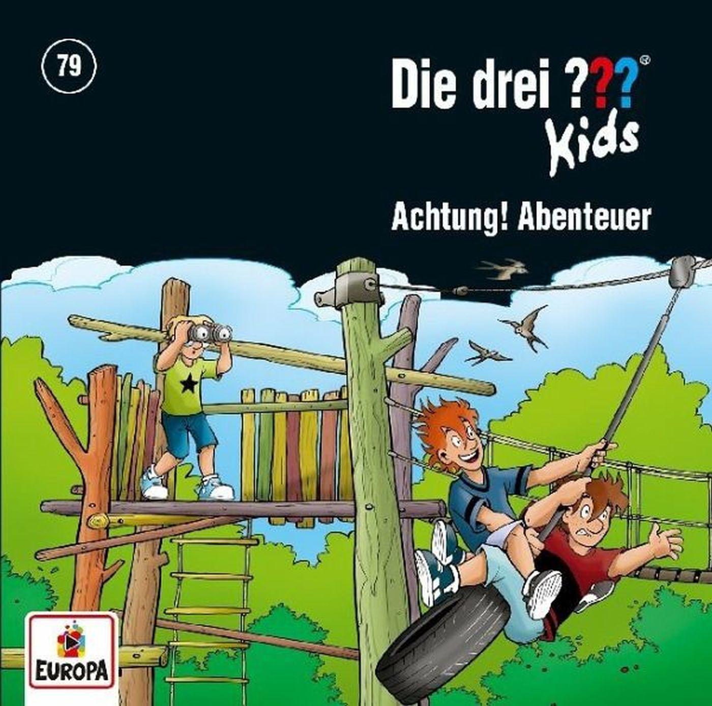 Die drei ??? Fragezeichen Kids - Folge 79: Achtung, Abenteuer