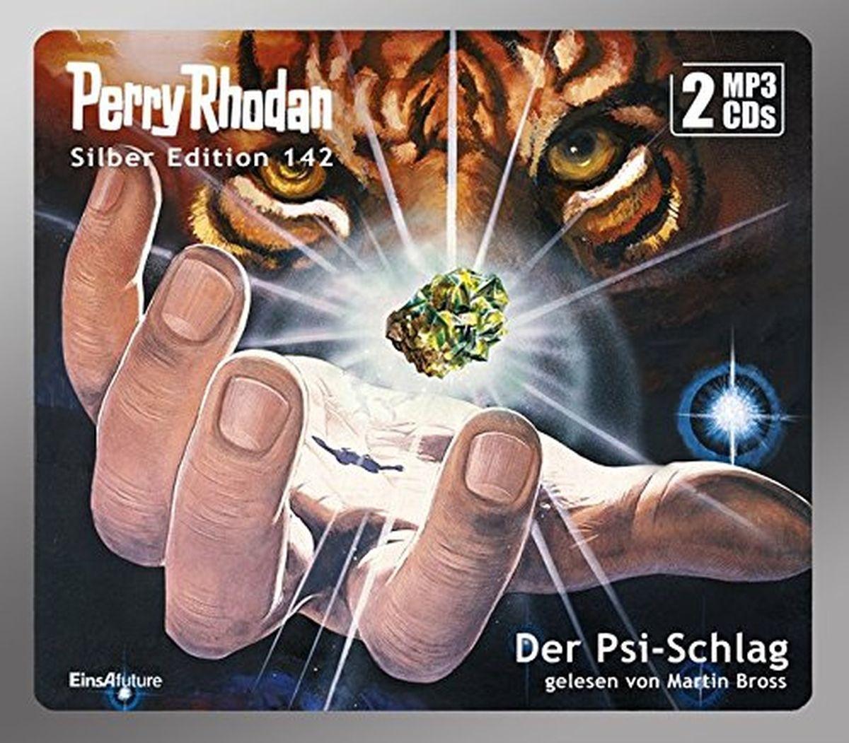 Perry Rhodan Silber Edition 142: Der Psi-Schlag (2 mp3-CDs)