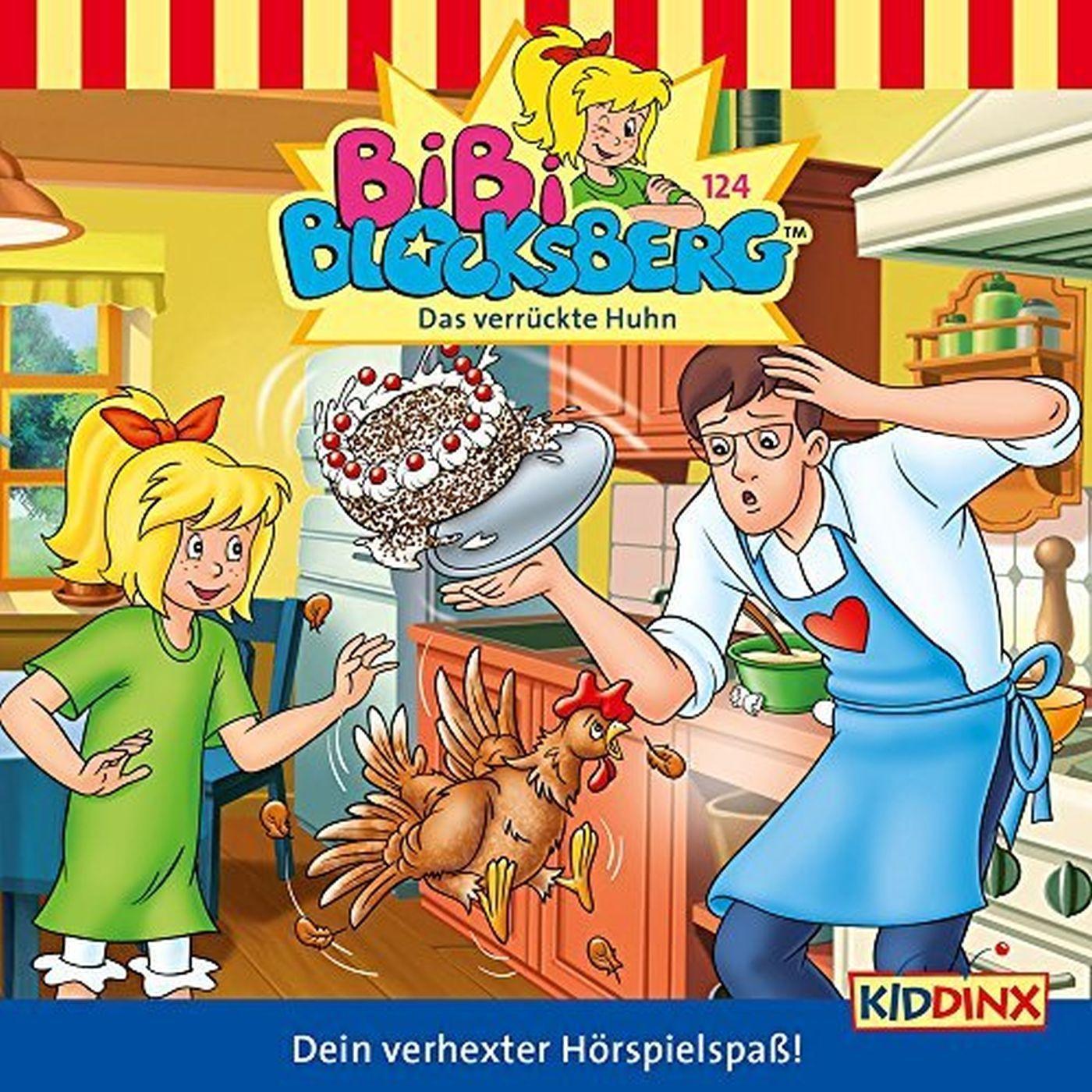 Bibi Blocksberg - Folge 124: Das Verrückte Huhn (CD)