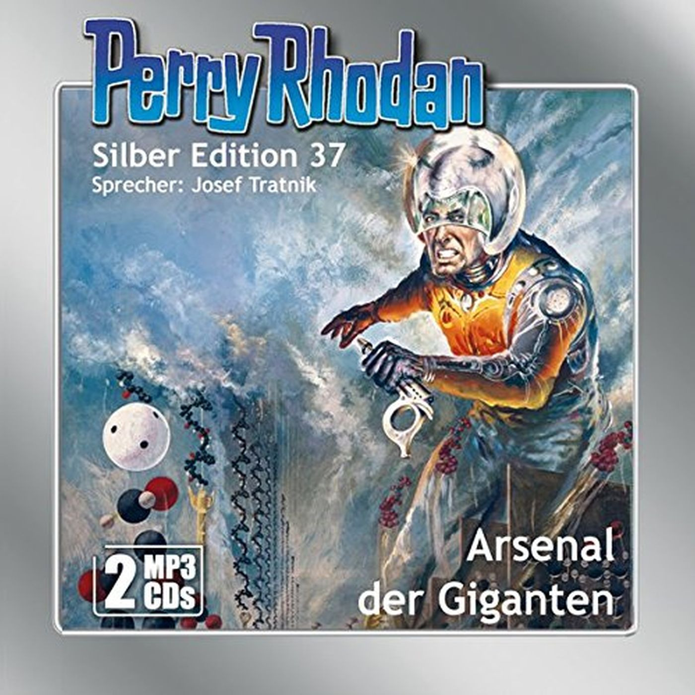 Perry Rhodan Silber Edition 37 Arsenal der Giganten (2 mp3-CDs)