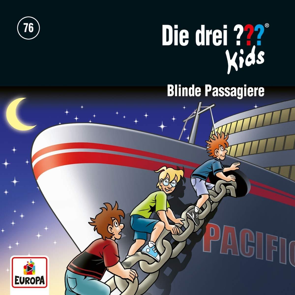 Die drei ??? Fragezeichen Kids - Folge 76: Blinde Passagiere