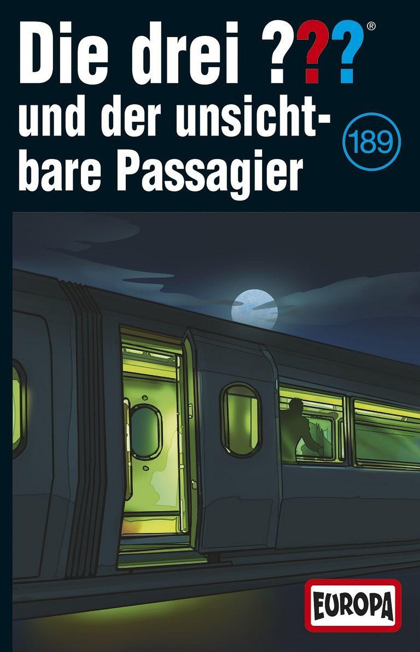 Die drei ??? Fragezeichen - Folge 189: und der Unsichtbare Passagier (MC)