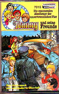 MC Polyband 7015 Tommy und seine Freunde Das Feuerwerk