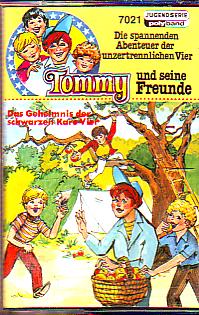 MC Polyband 7021 Tommy und seine Freunde Das Gehemnis der schwar