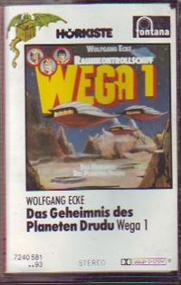 MC Fontana Raumkontrollschiff Wega 1 Planeten Drudu