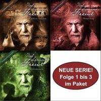 Sigmund Freud Folge 01 - 03 Paket
