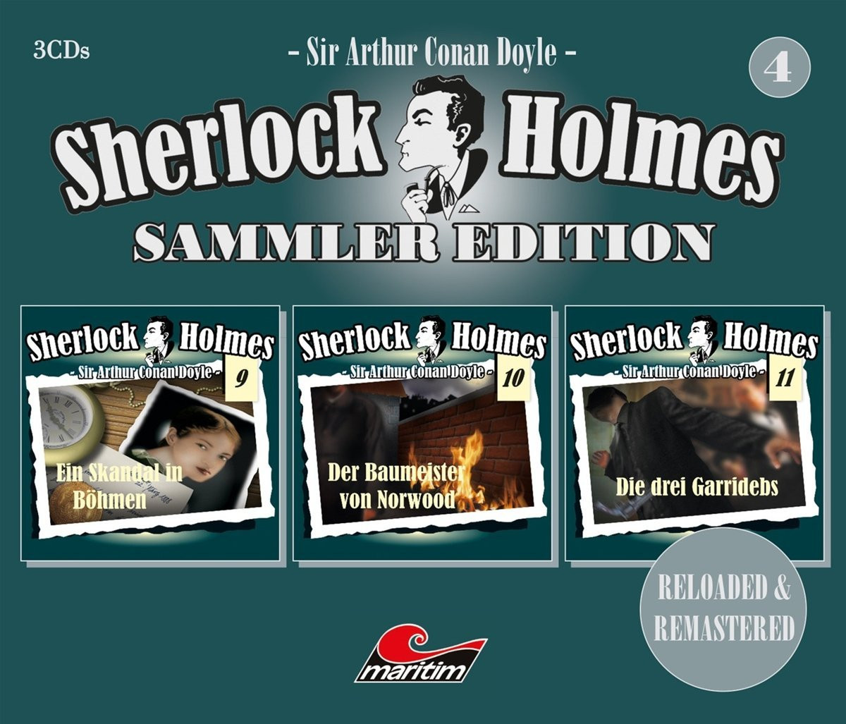 Sherlock Holmes - Sammler Edition - Box 4 (Folge 9, 10, 11)