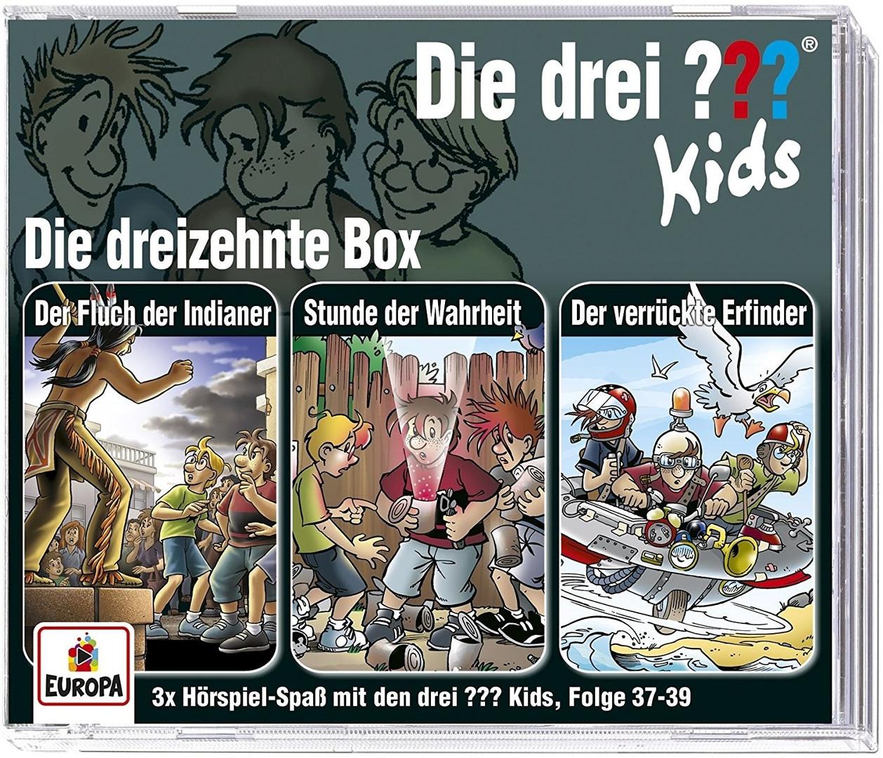 Die drei ??? Fragezeichen Kids - Die dreizehnte Box (Folge 37-39)