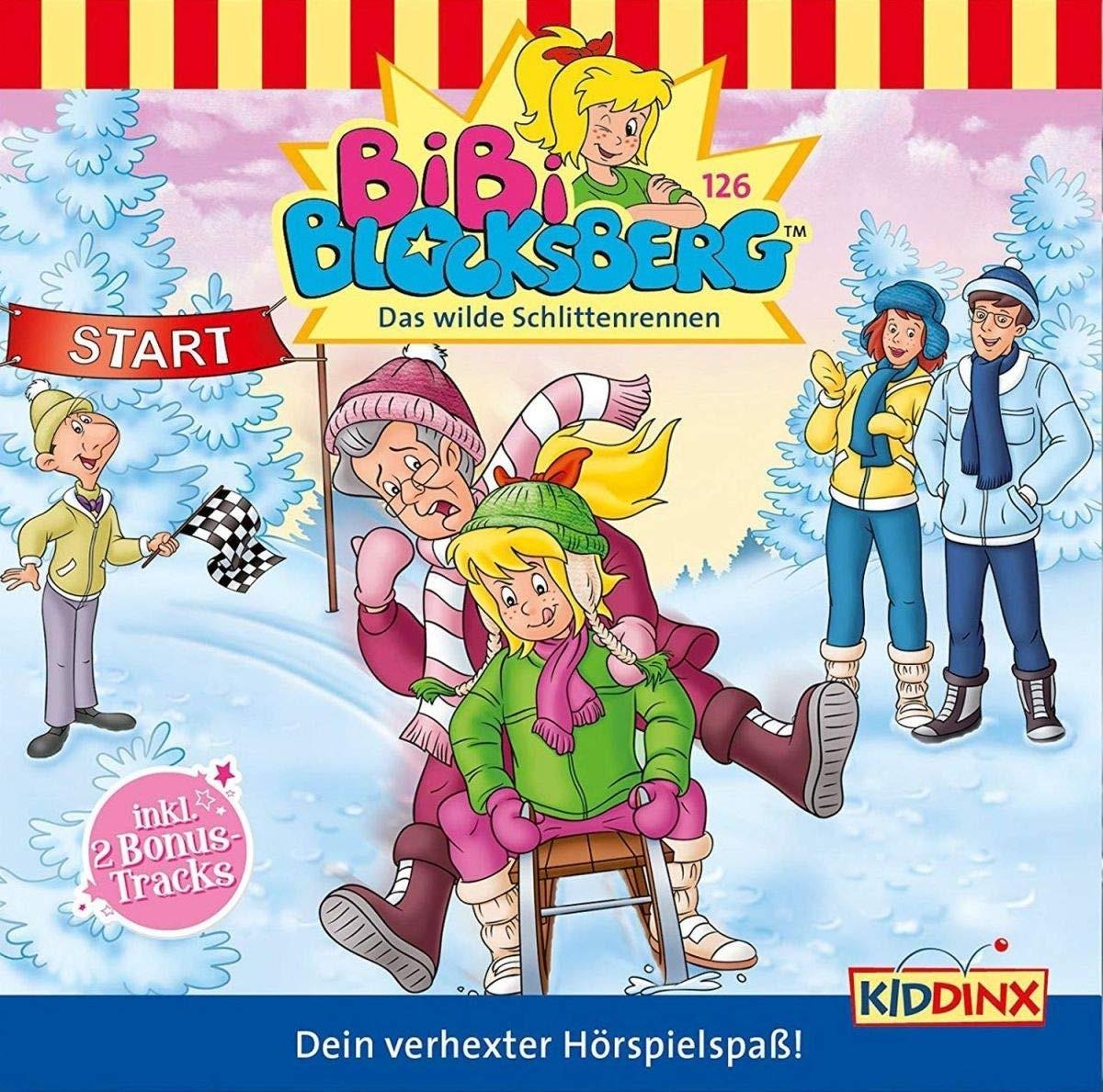 Bibi Blocksberg - Folge 126: Das wilde Schlittenrennen (CD)