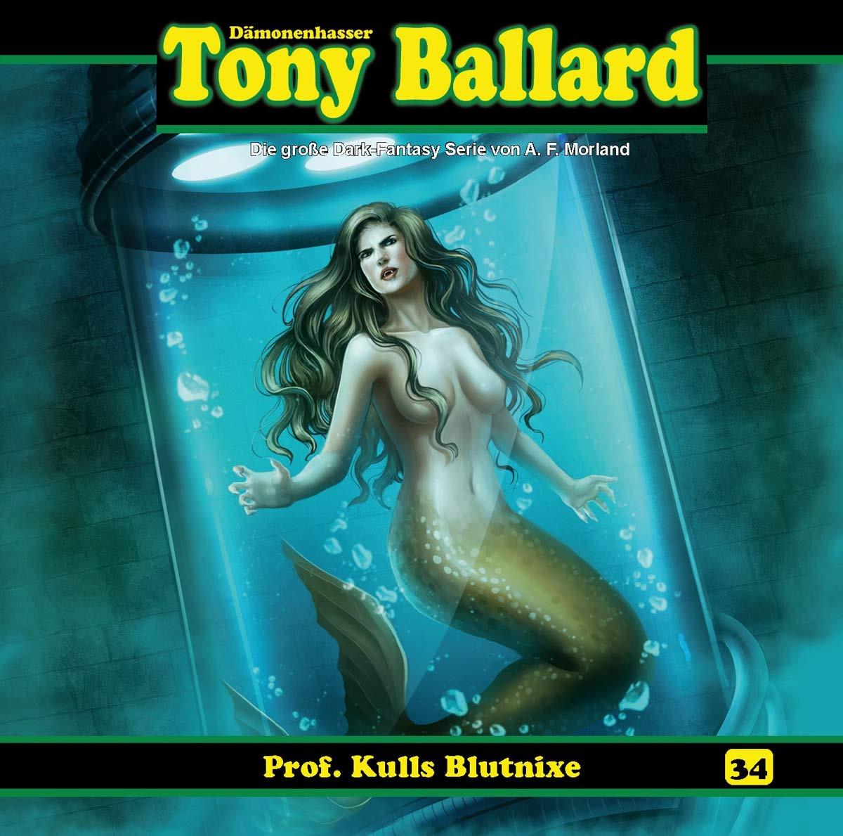 Tony Ballard 34 - Prof Kulls Blutnixe