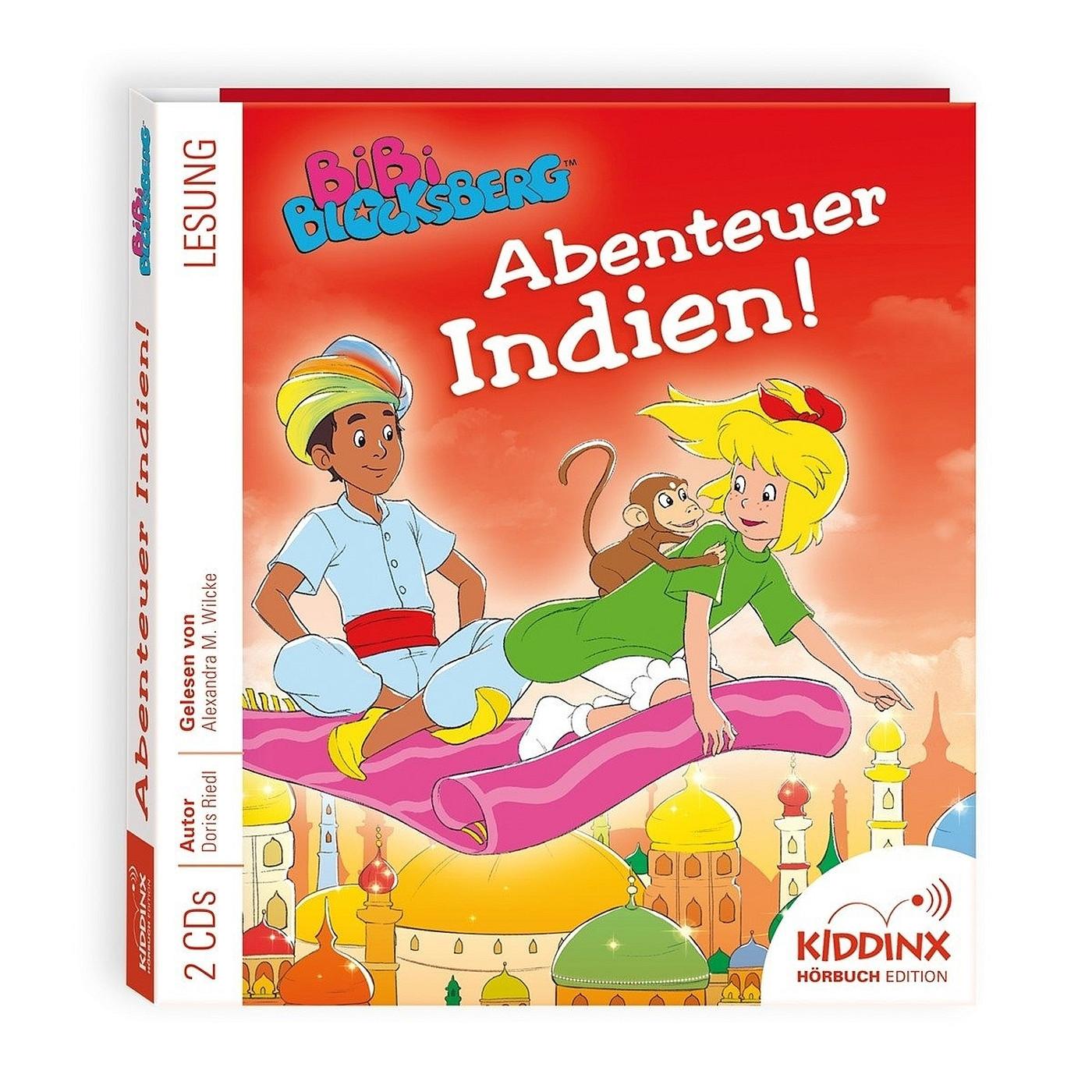 Bibi Blocksberg Hörbuch: Abenteuer Indien!