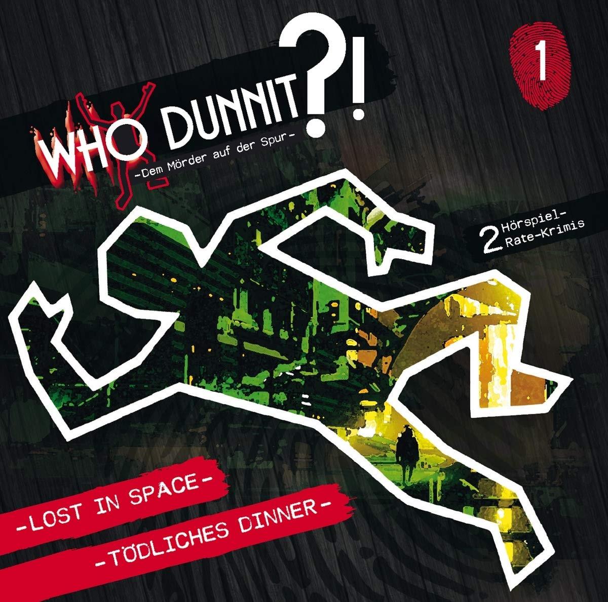 Who Dunnit?! Dem Mörder auf der Spur - Folge 1: Lost in Space / Tödliches Dinner