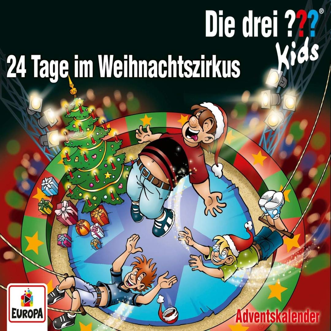 Die drei ??? Fragezeichen Kids - Adventskalender: 24 Tage im Weihnachtszirkus