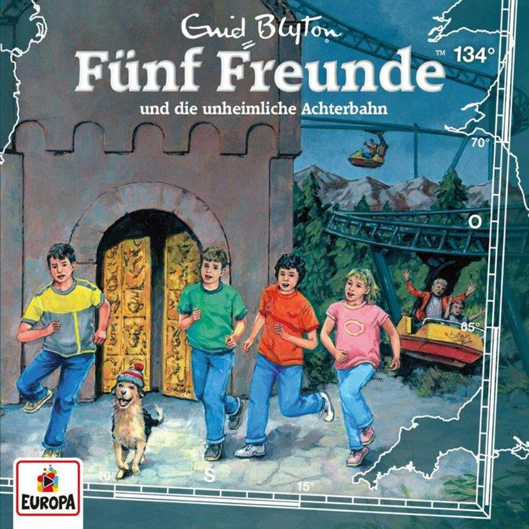 Fünf Freunde 134 Fünf Freunde und die unheimliche Achterbahn
