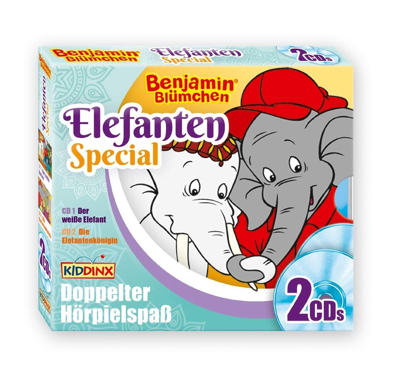 Benjamin Blümchen - Elefanten-Special - Der weiße Elefant / Die Elefanten-Königin (2 CDs)