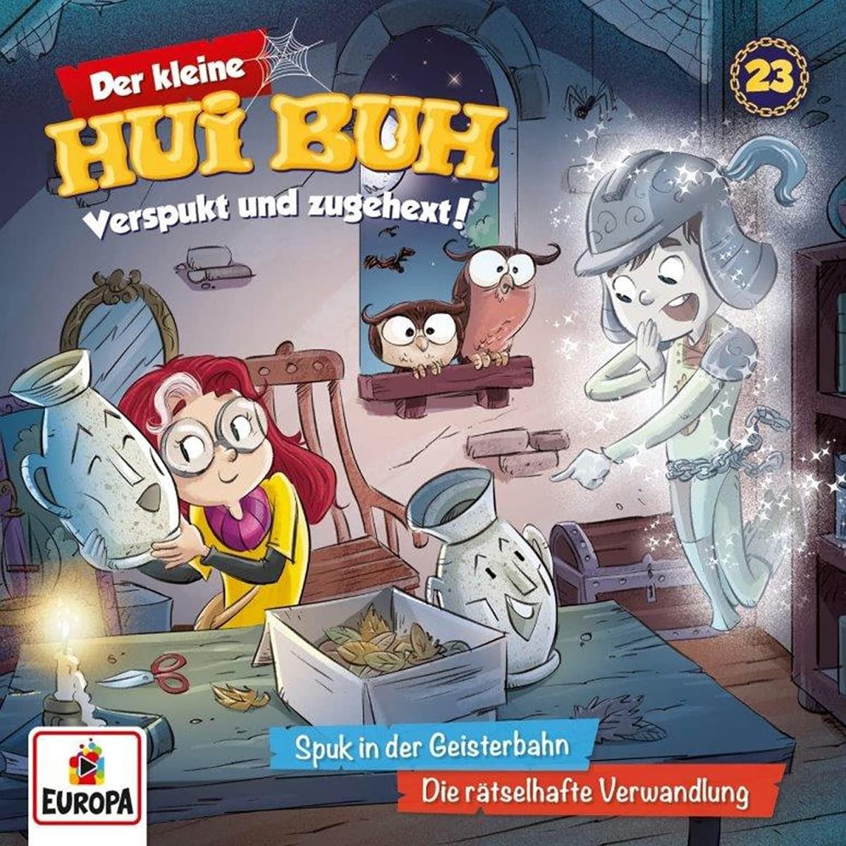 Der kleine HUI BUH - Folge 23: Spuk in der Geisterbahn / Die Rätselhafte Verwandlung