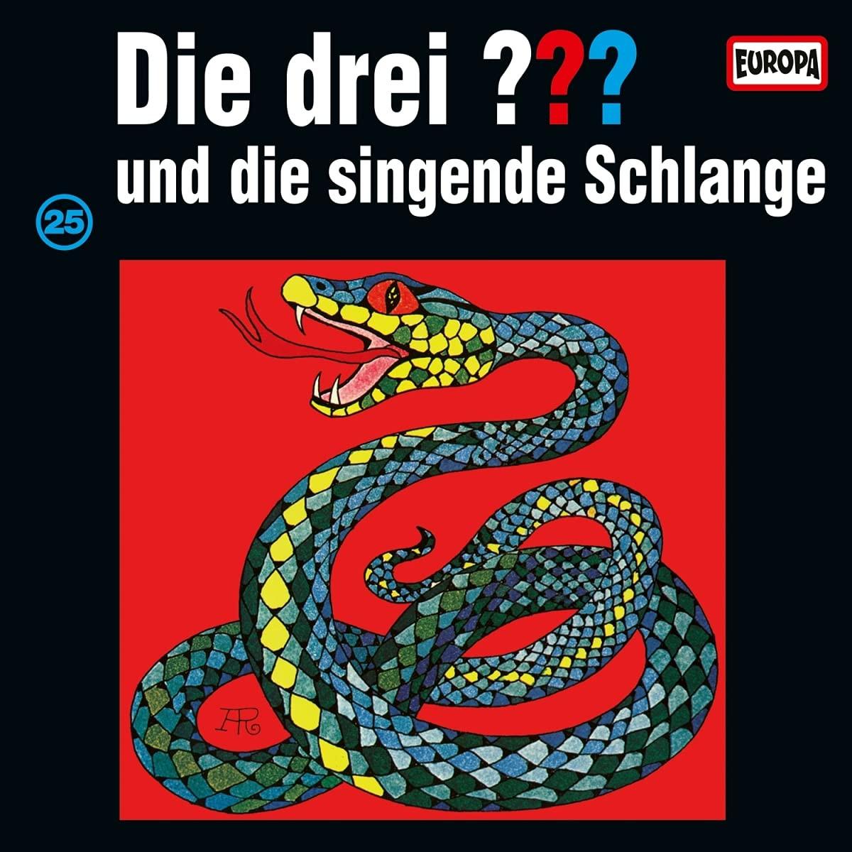 Die drei ??? Fragezeichen - Folge 25: und die singende Schlange (Vinyl)