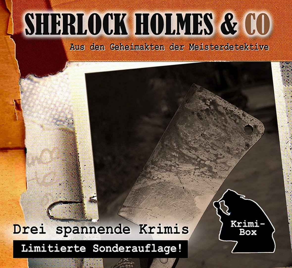 Sherlock Holmes und Co. Krimi-Box 13 mit den Folgen 39-41
