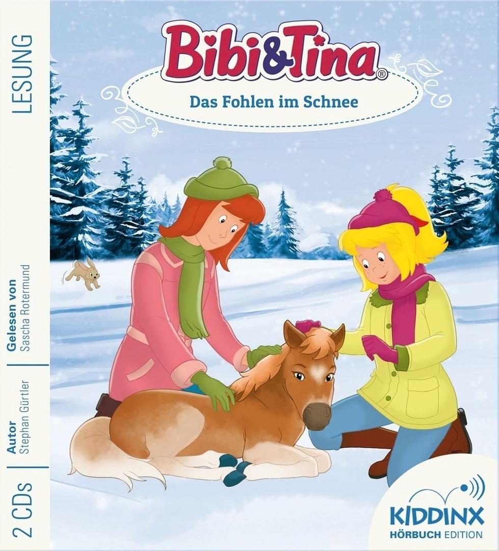 Bibi und Tina Hörbuch: Das Fohlen im Schnee
