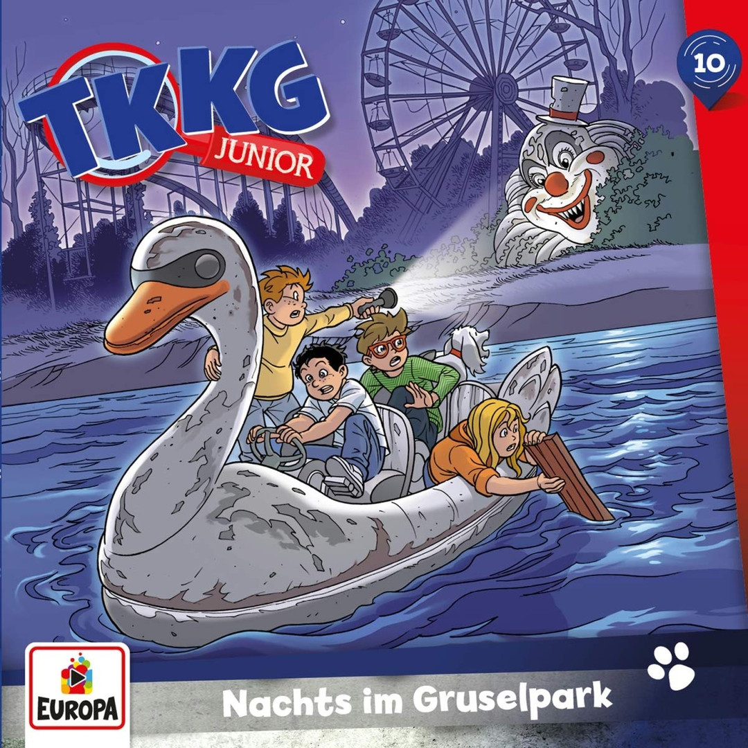 TKKG Junior - Folge 10: Nachts im Gruselpark