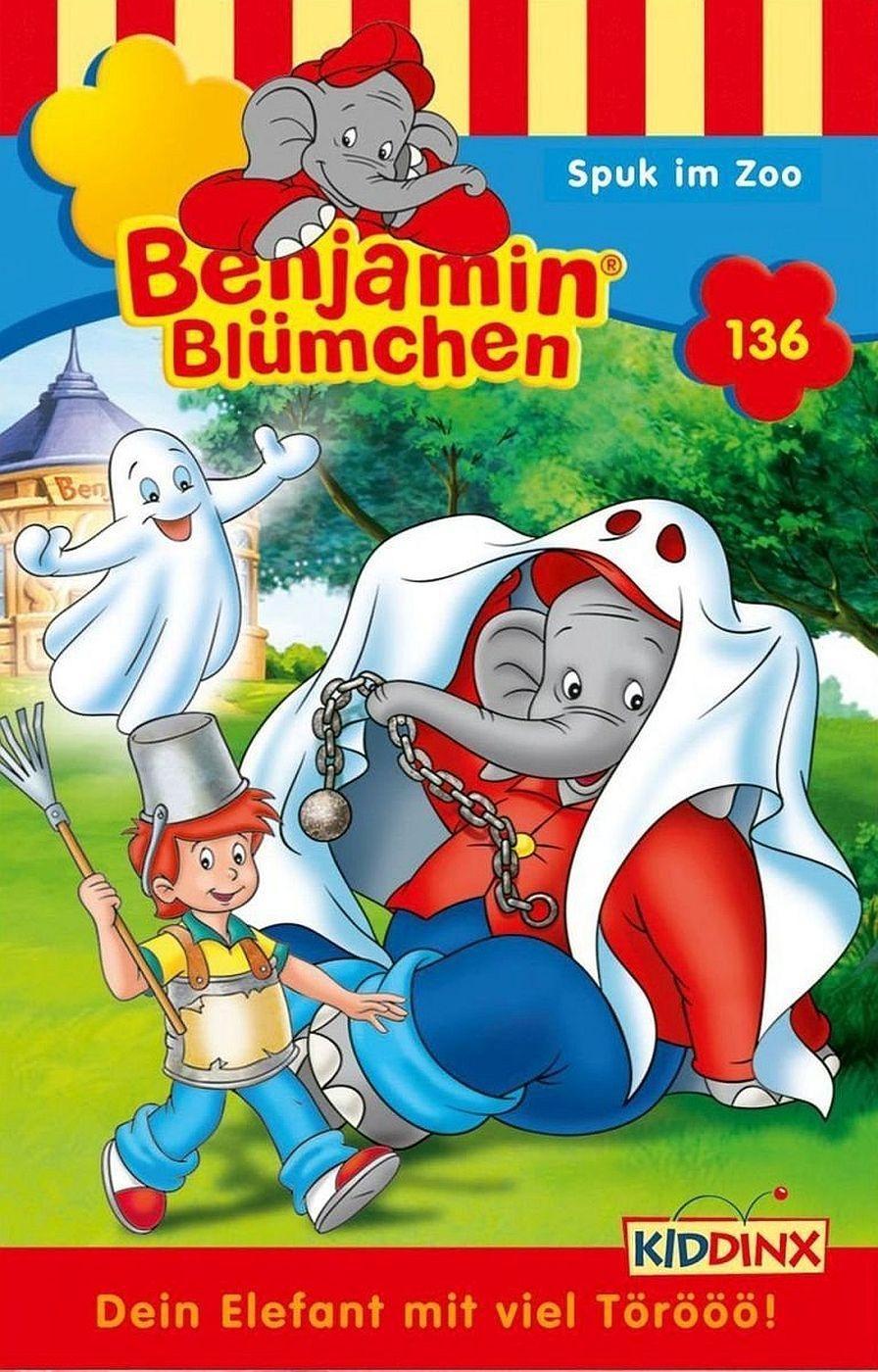 Benjamin Blümchen - Folge 136: Spuk im Zoo (MC)