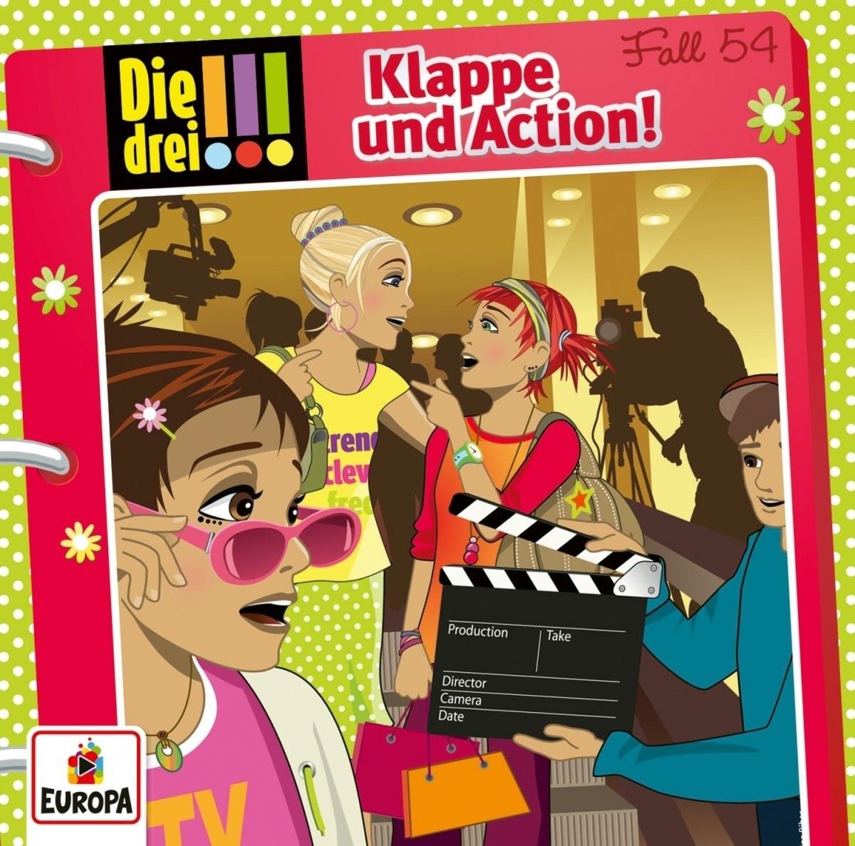 Die drei Ausrufezeichen - Folge 54: Klappe und Action!