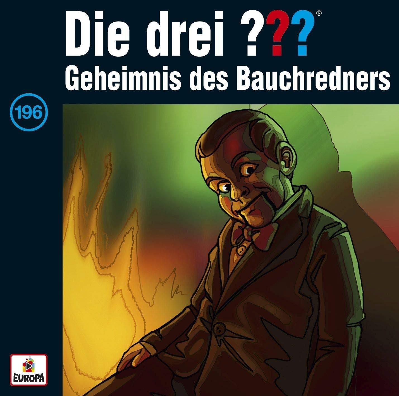 Die drei ??? Fragezeichen - Folge 196: Geheimnis des Bauchredners (CD)