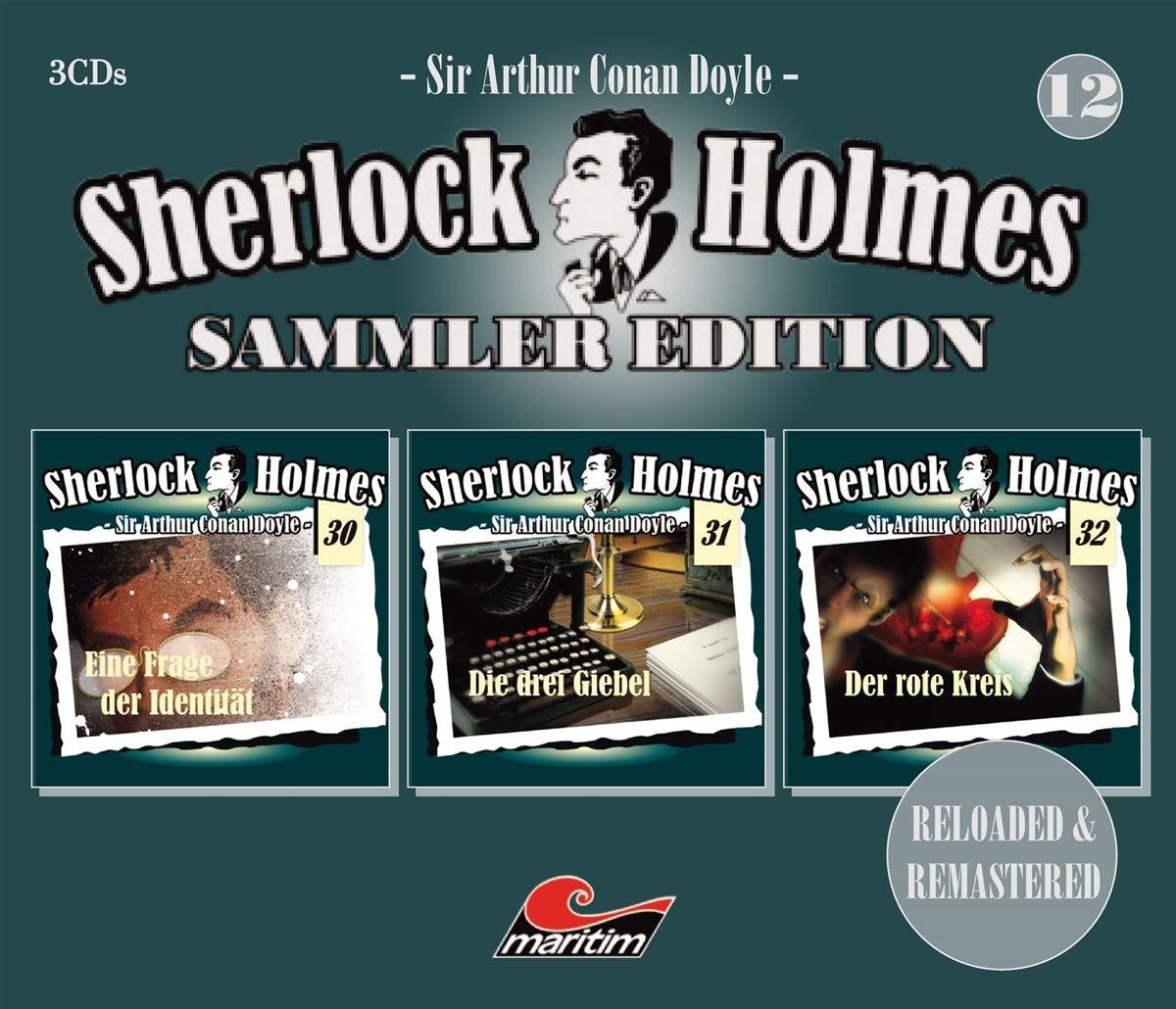 Sherlock Holmes - Sammler Edition - Box 12 (Folge 30, 31, 32)