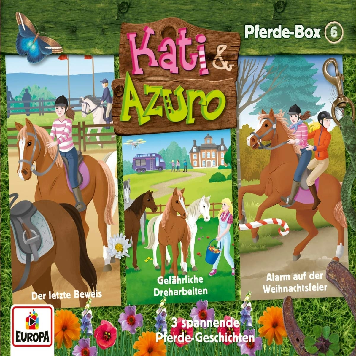 Kati & Azuro - Pferde Box 6 (Folge 16, 17, 18)